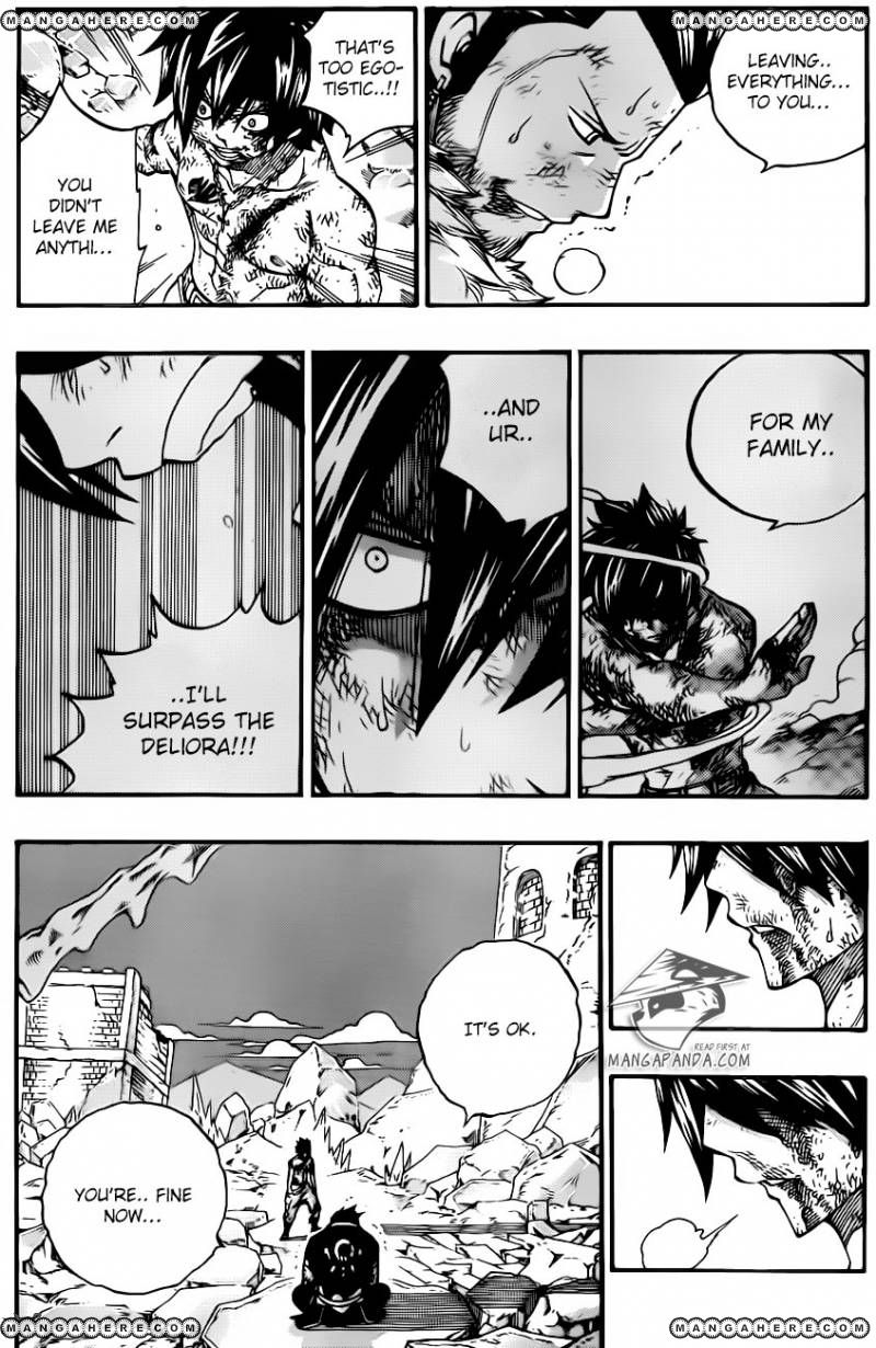 Fairy Tail Ch 393: Silver memories