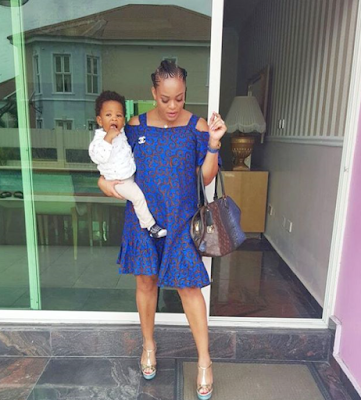 Adaeze Yobo shows off her baby bump (see photo)
