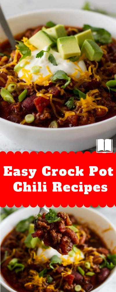 CROCK POT CHILI RECIPES