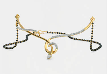 model kalung emas mewah