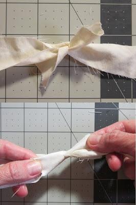 fabric scrap yarn, sheet yarn, how to