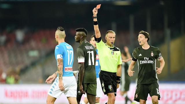 AC Milan Ditaklukkan Napoli Di San Paolo