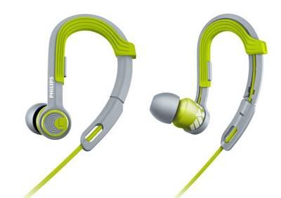 O fone de ouvido Philips SHQ3300 proporciona conforto e segurança com suas hastes ajustáveis e a prova de suor