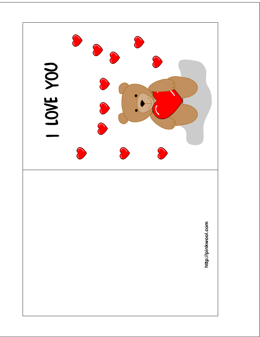 It is an image of Terrible Downloadable Valentines Card