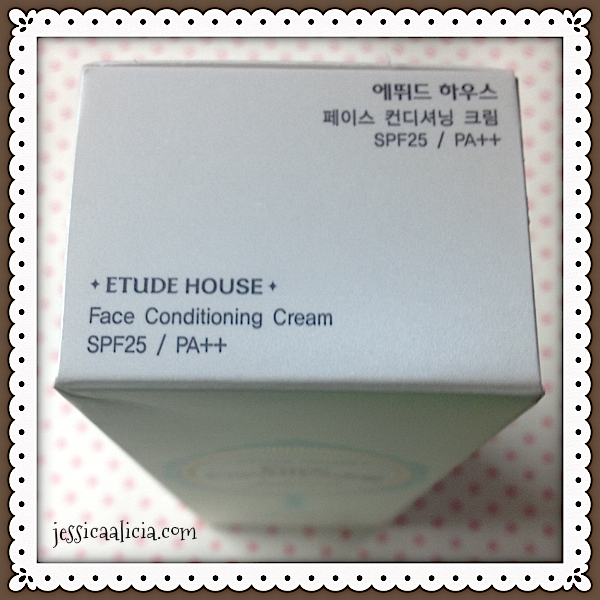 Review : Etude House Face Conditioning Cream by Jessica Alicia