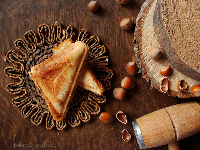 tosty na słodko