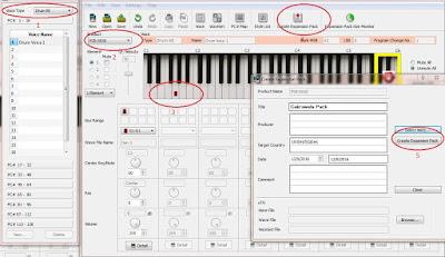 Cara Membuat YEP Untuk Keyboard Yamaha PSR-S650 750 A2000 Dan 950