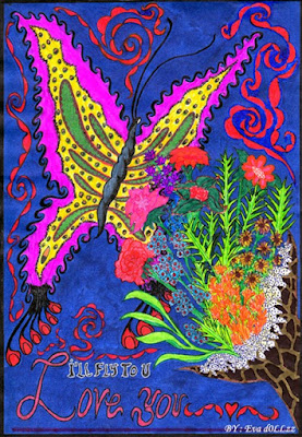 I will fly to you. Colorful Draws - Gambar Penuh Warna