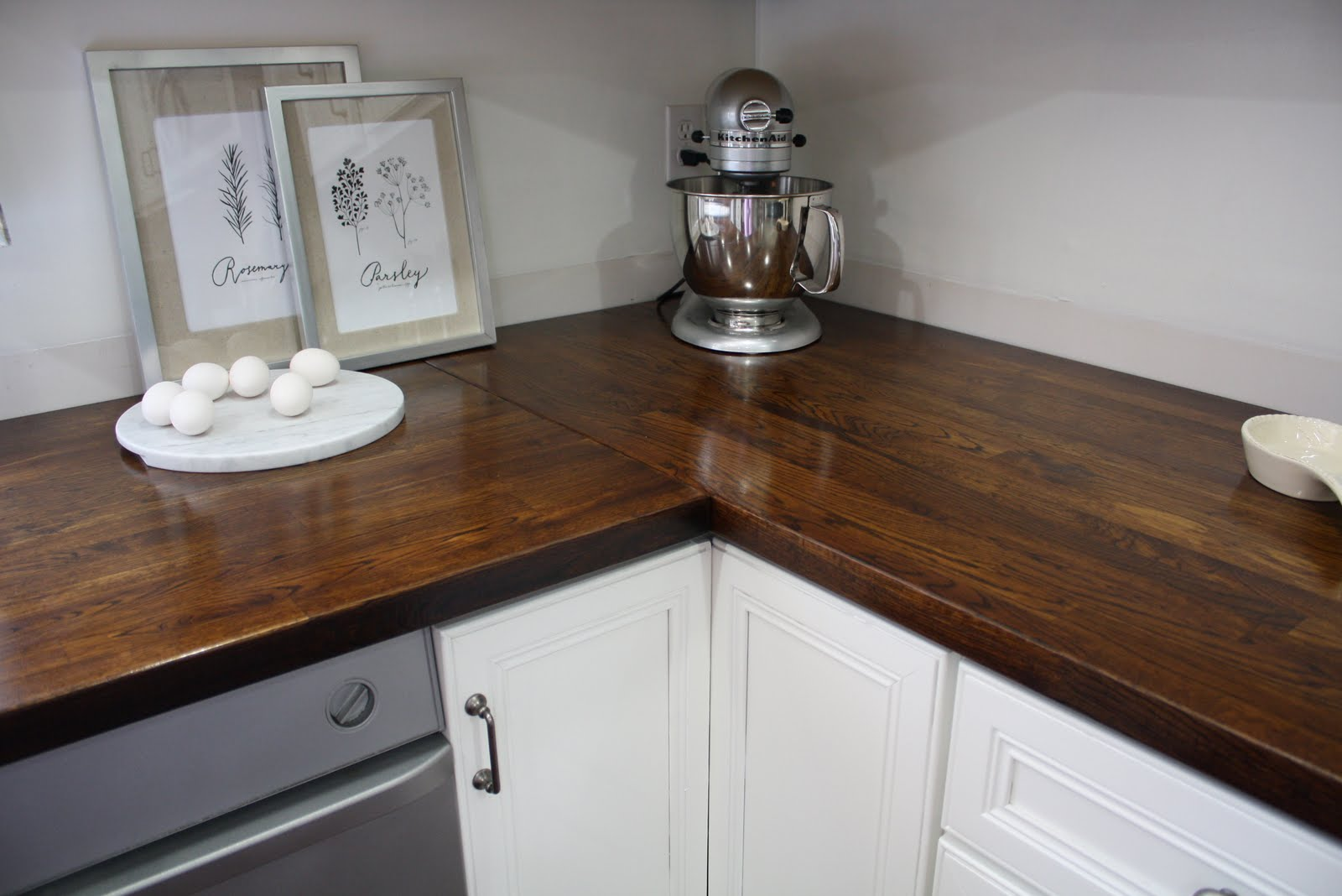 Stained Butcher Block Countertop For Kitchen : Stillwater Story: How to Stain Butcher Block Countertops
