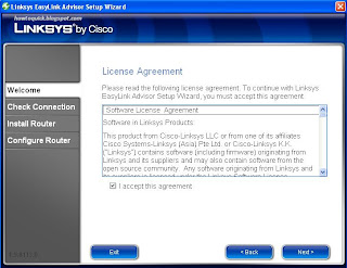 Linksys Router Setup