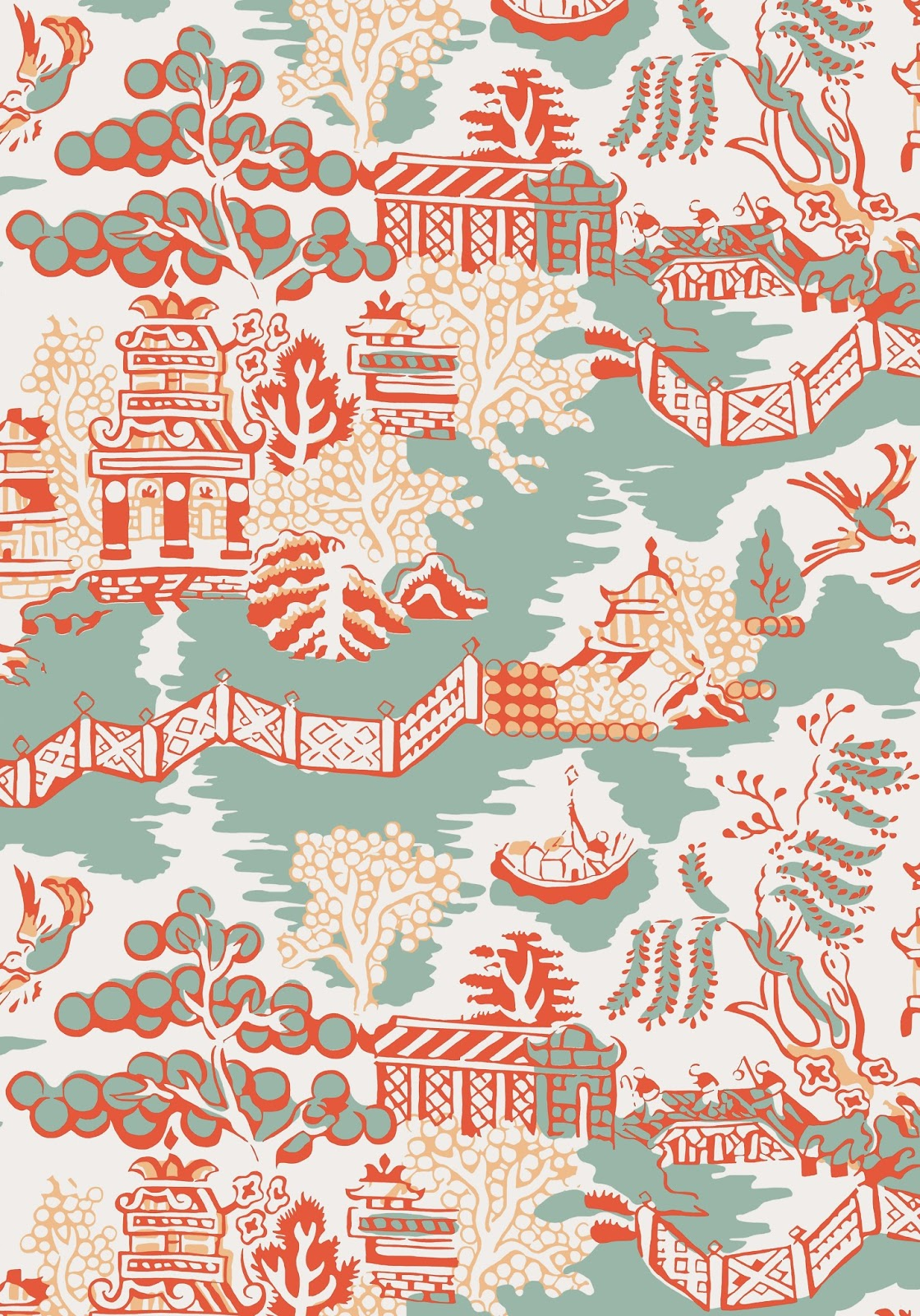 Chinoiserie Chic: New Thibaut Collection