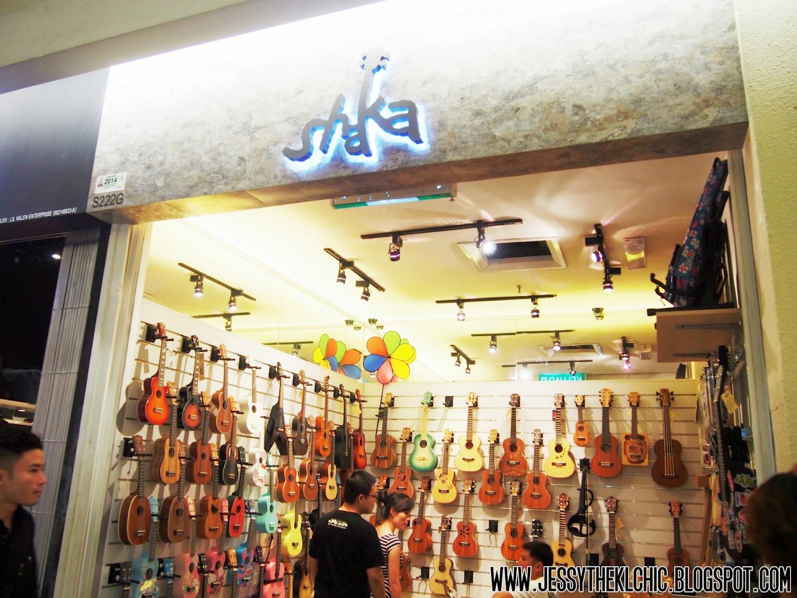 place shaka ukulele club 1 utama mall bandar utama jessy the kl chic malaysia food. Black Bedroom Furniture Sets. Home Design Ideas