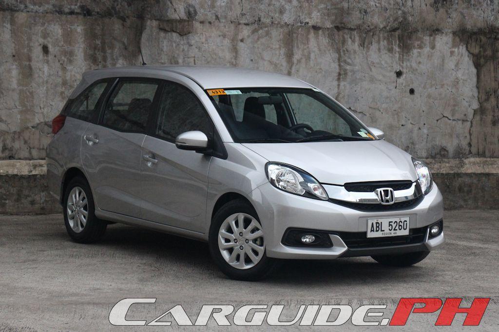 Review: 2015 Honda Mobilio 1.5 V | Philippine Car News ...