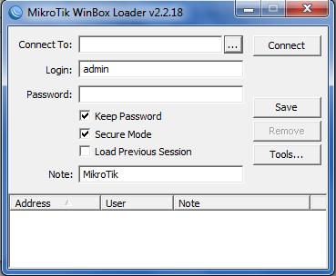 Konfigurasi Router Mikrotik (IP Address, DNS, Hotspot) menggunakan Winbox