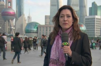 A repórter Sonia Blota visita Xangai, a grande metrópole do oriente - Divulgação/Band