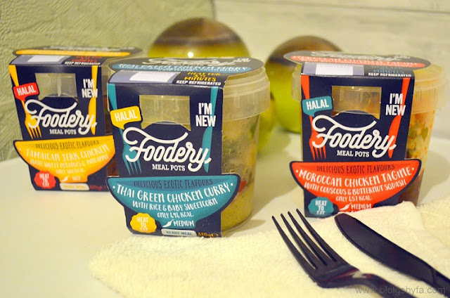 FOODERY - Halal Ready Meal Pots Review