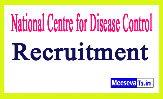 National Centre for Disease Control NCDC Recruitment