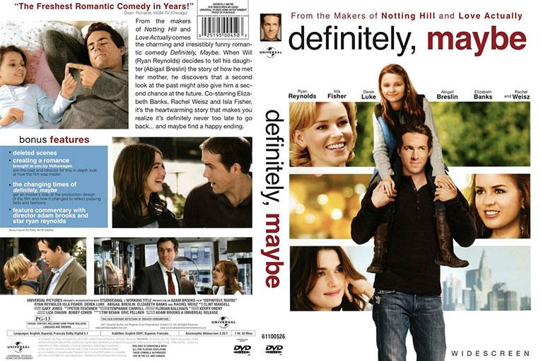Definitely, Maybe (2008) 720p BrRip [Dual Audio] [Hindi 5.1+English]