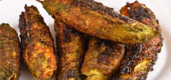 Bharwa Karele Hindi Recipe