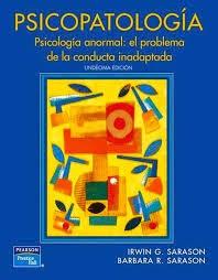 PSICOPATOLOGÍA. PSICOLOGÍA ANORMAL