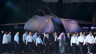 EL REY SALMÁN DE ARABIA SAUDITA ORDENA MOVILIZAR A SUS CAZAS F-15 PARA REALIZAR UN BOMBARDEO INMINENTE DE CASTIGO SOBRE POSICIONES DE HEZBOLÁ EN EL LÍBANO