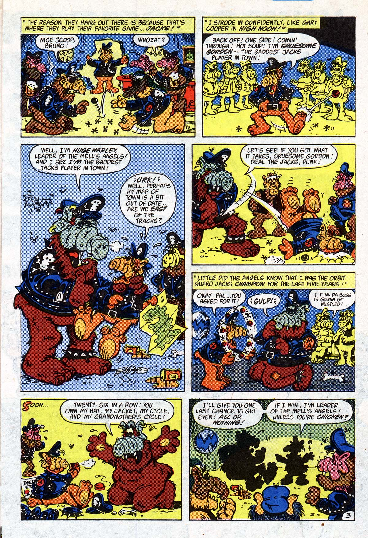 Read online ALF comic -  Issue #2 - 80