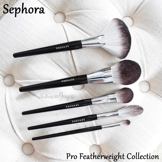 Sephora Collection Pro Featherweight Brush Line Review