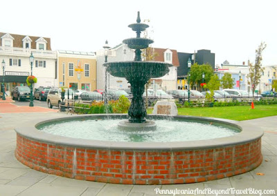 Rotary Park in Cape May New Jersey - Water Fountain