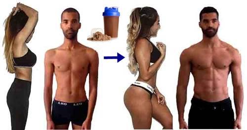 Batidos de proteínas para ganar peso en masa muscular