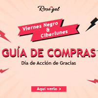 Aprovecha el Black Friday en rosegal