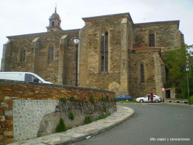Conjunto monumenta de San Vicente do Pino, Monforte de Lemos, Ribeira Sacra, Galicia