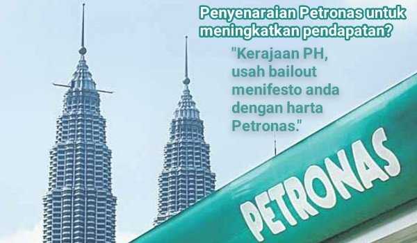 Penyenaraian Petronas untuk meningkatkan pendapatan?