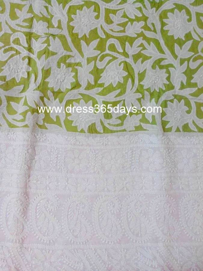 Lucknow Chikan Wholesale And Retail Applique Work With