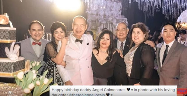 Angel Locsin's Father Is Still Active In Sports Even Though He Is Already 90 Years Old! AMAZING!