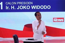 Tanggapan Tudingan Jokowi Yang di Duga Memakai Earpiece Saat Debat Capres Ke-2