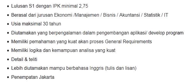 lowongan kerja bank bca agustus 2015