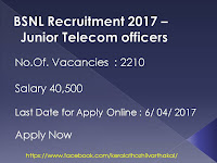Jobs for Junior Telecom Officers