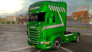 Tijs de Koning Skin Scania RJL skin