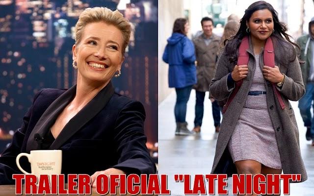 """Trailerul filmului """"Late Night"""" o dezvăluie pe Emma Thompson în comedia scrisă de Mindy Kaling"""