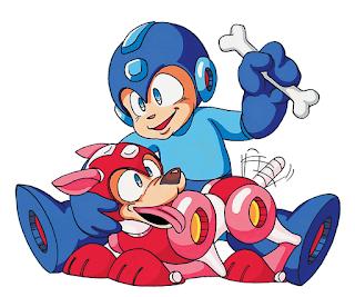 Megaman Rockman nintendo Rush