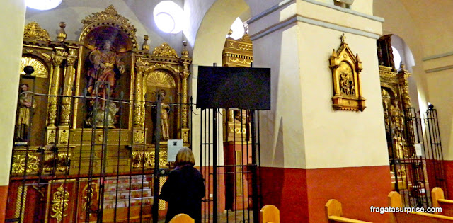 Capela lateral da Igreja da Candelaria, Bogotá, Colômbia