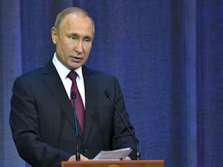 Vladimir Putin Russian president