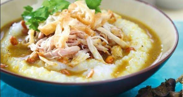 resep masakan indonesia praktis  mudah sehari hari resep membuat bubur ayam enak  sedap Resepi Bubur Lambuk Enak dan Mudah