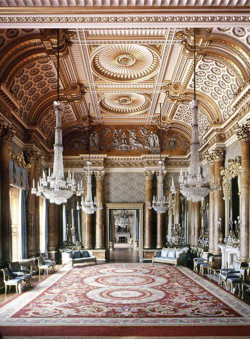 Take A Sneak Peek At Buckingham Palaces Opulent Rooms