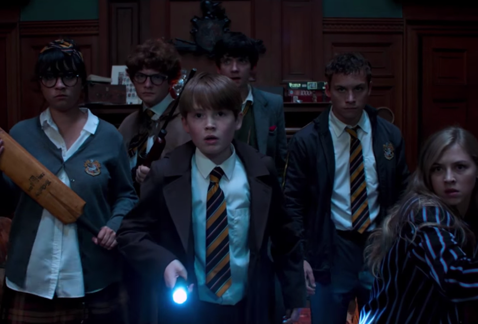 "Simon Pegg e Nick Frost no trailer da comédia de terror ""Slaughterhouse Rulez"""