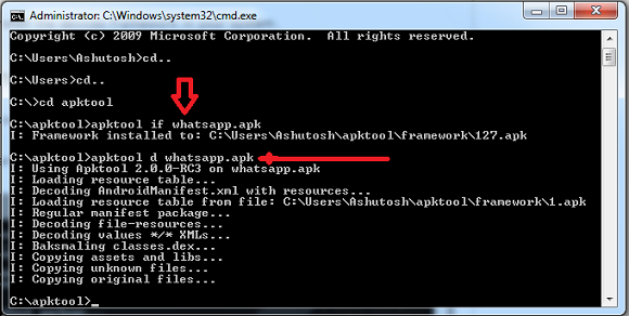 decompiling whatsapp apk