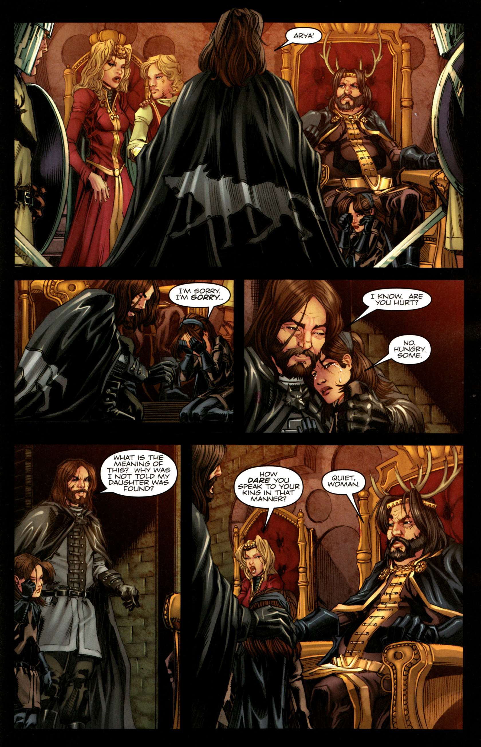 Read online A Game Of Thrones comic -  Issue #5 - 21