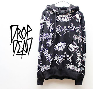 Jaket Fleece Hoodie - Dropdead DROP010
