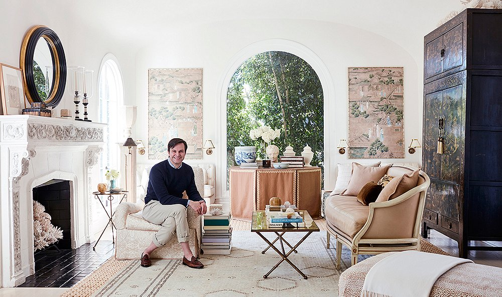 At Home With Mark D Sikes The Glam Pad