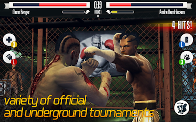 Download Real Boxing Mod Apk Unlimited Coins VIP 2.4.0 Terbaru